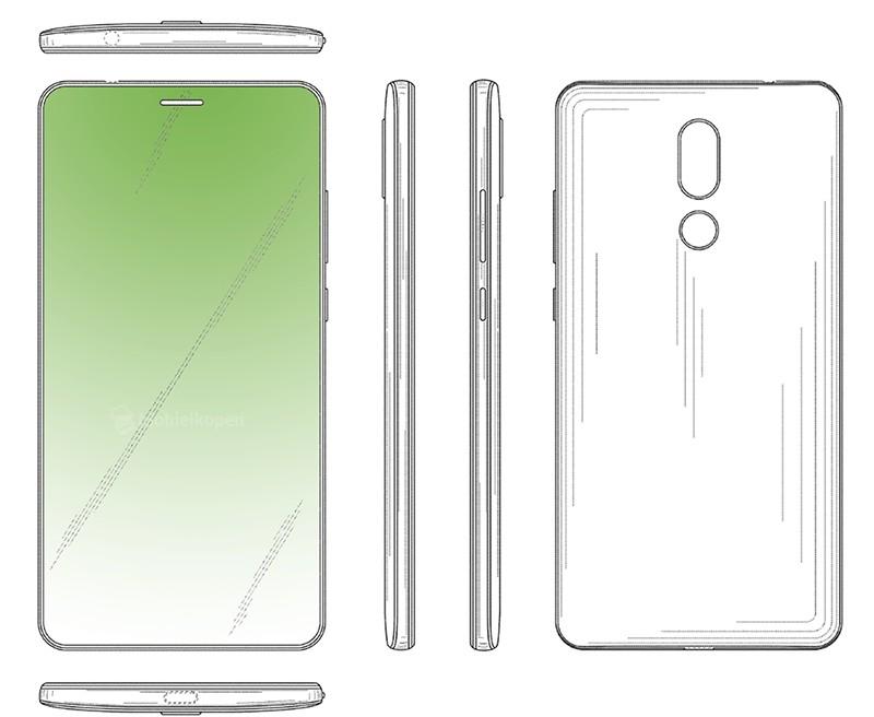00 1 - شركة Huawei تكشف عن براءة اختراع لشاشة هاتف ذكي ذات ثقب دائري
