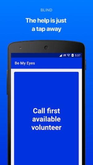 4.webp  2 - تطبيق Be My Eyes يتيح لك اقراض عينيك للأشخاص الذين يعانون من إعاقة بصرية