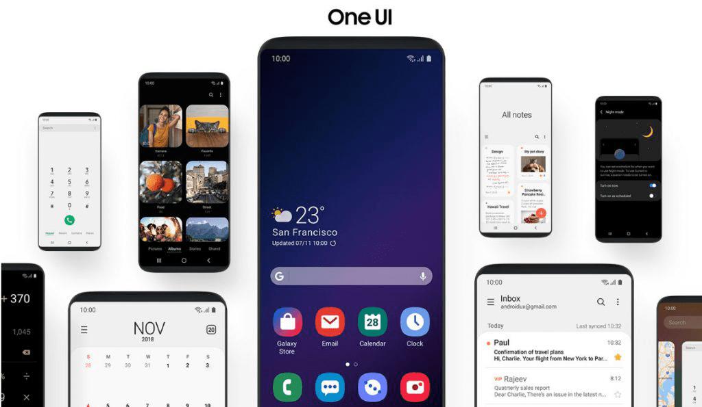 Samsung One UI 1 - القائمة الاولية لهواتف سامسونج التي سيتاح لها استخدام الإصدار التجريبي من واجهة One UI