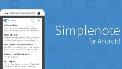 Screenshot 4 - للتحميل المجاني تطبيق Simplenote لتدوين الملاحظات لهواتف الأندرويد