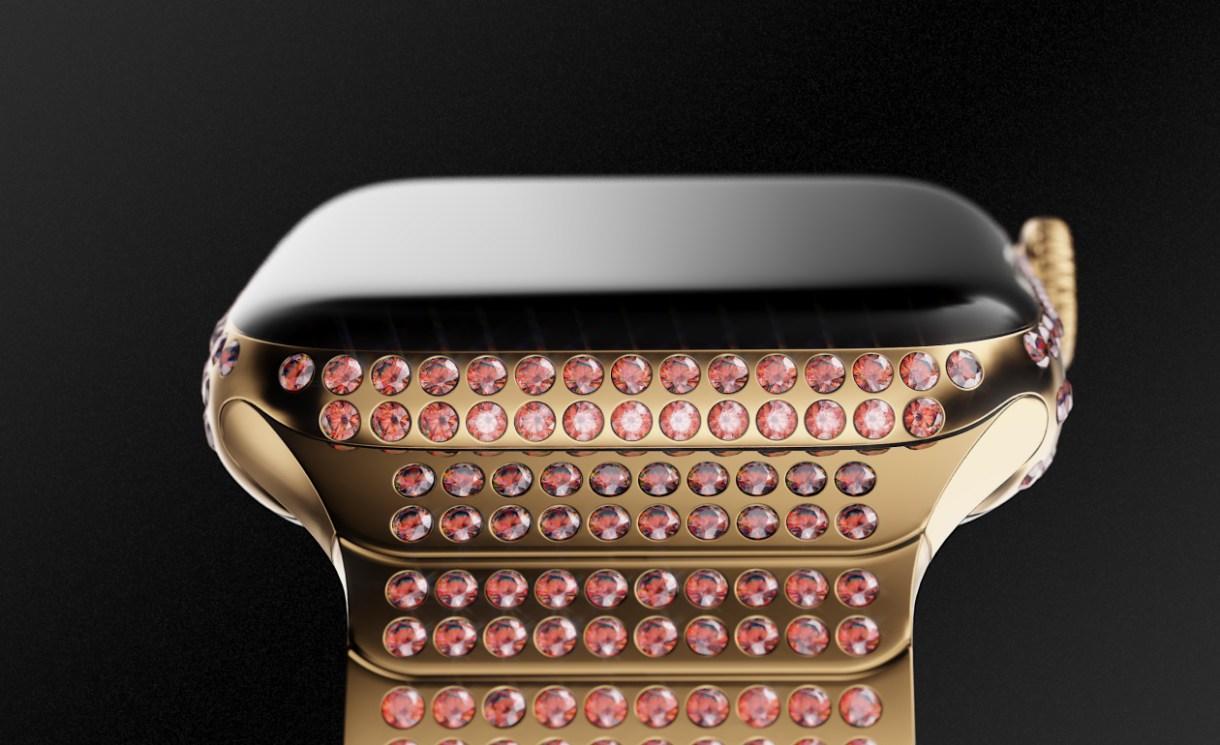 2 - شركة كافيار الروسية تكشف عن ساعة ابل 4 الفاخرة بسعر 165,000 ريال.. تعرف على مزاياها