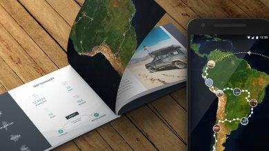 صورة تطبيق Polarsteps لتتبع رحلاتك ومشاركة مسارك والمناطق التي تذهب اليها مع الاخرين