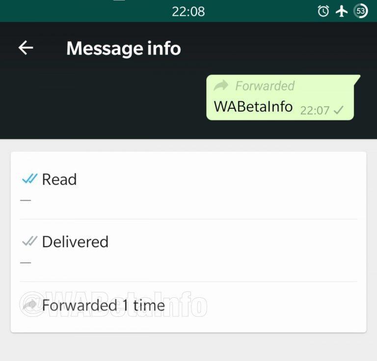 واتس آب - تطبيق واتساب يختبر ميزة جديدة تختص بالرسائل المعاد توجيهها بشكل متكرر