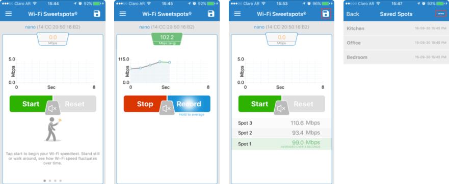 2 - تطبيق Wi-Fi SweetSpots لمعرفة أفضل الأماكن لتركيب مقوي شبكة الواي فاي