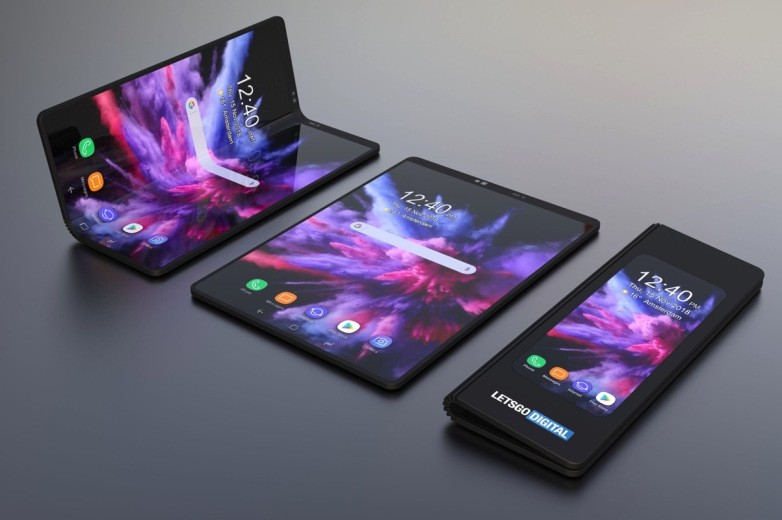 galaxy f foldable phone concept lets go digital 1 - كفرات هاتف سامسونج جالكسي فولد القابل للطي ستكلفك هذا المبلغ!