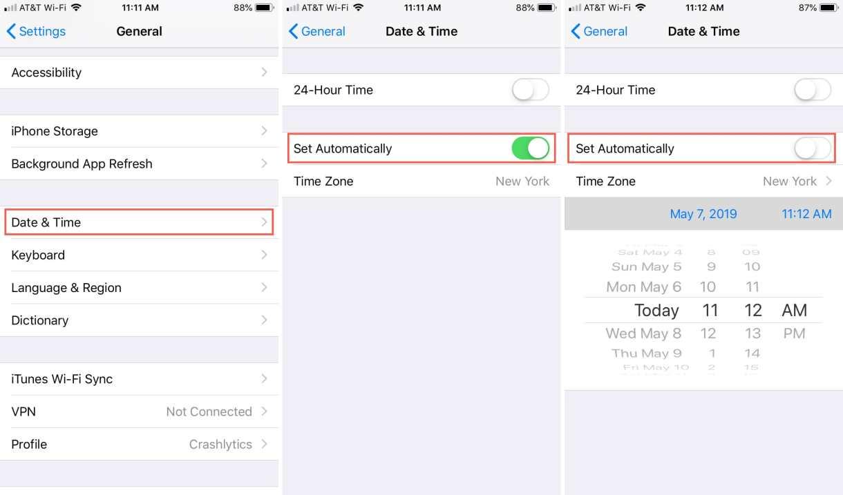 1 1 - بالصور، تعرف على كيفية منع جوال آيفون الخاص بك من تغيير الوقت حسب موقعك