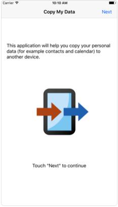 222 2 - تطبيق Copy My Data يتيح لك نقل جهات اتصالك من جهاز لجهاز آخر بسهولة وسرعة كبيرة