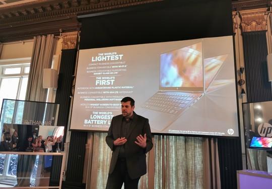 HP Elite Dragonfly x360 - اتش بي تكشف رسمياً عن أخف لابتوب لقطاع العمل باسم Elite Dragonfly x360