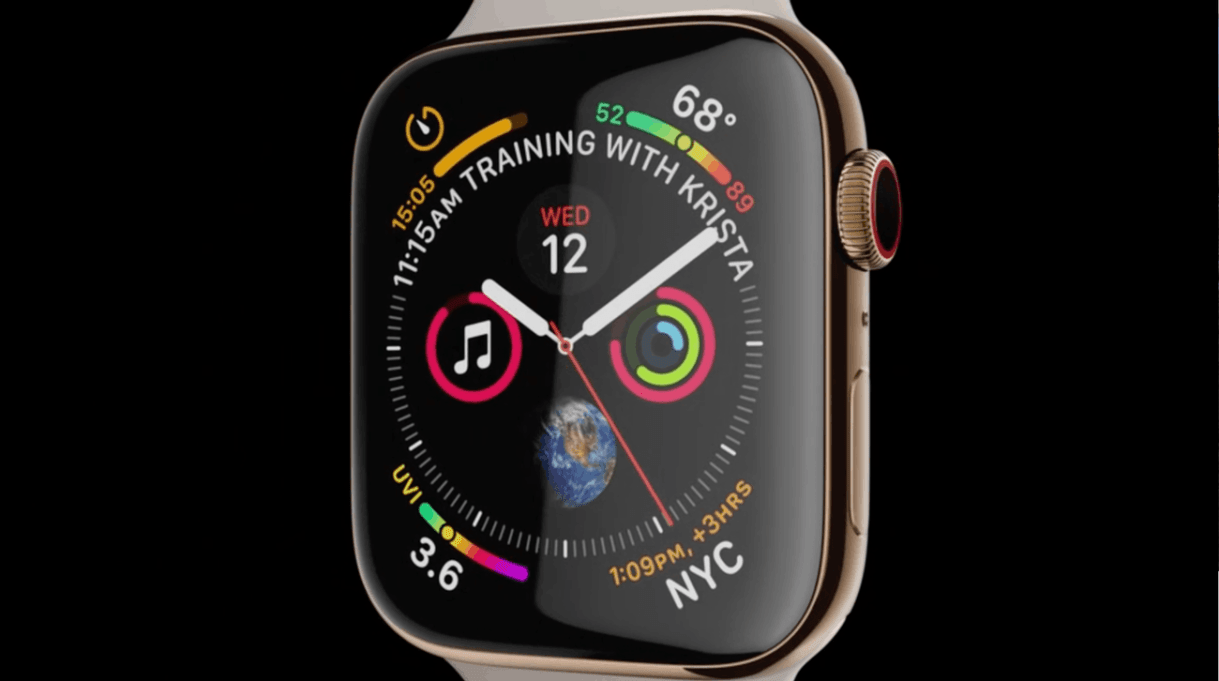 apple completely overhauled its smartwatch in 2018 and itll likely lean into these chances this yea - آبل تكشف رسمياً عن Apple Watch 5 ساعة آبل 5 ، بتحكم أسهل ومزايا أكثر تفرداً
