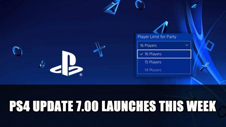 PS4 Update 7.00 Launches this week 750x422 - تحديث بلايستيشن 4 يجلب دعم المحادثات الجماعية مع 16 ومميزات أخرى
