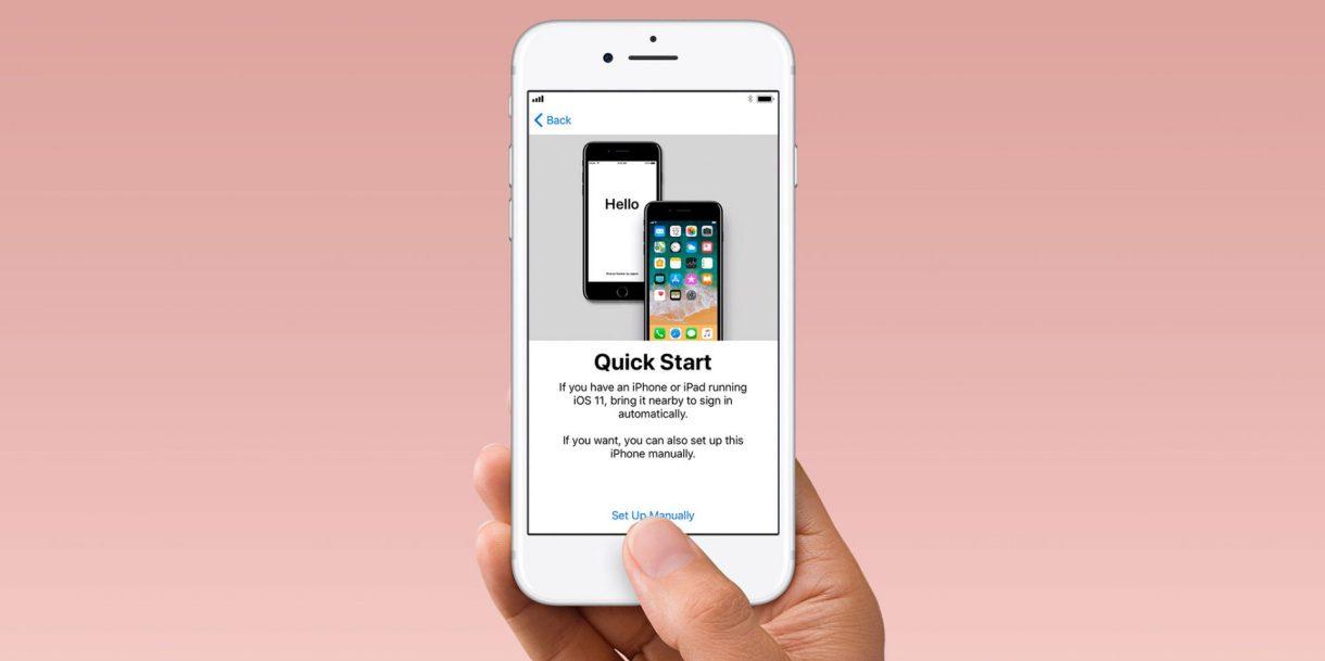 Quick Start iPhone 8 1920x959 - البدء السريع.. تعرف على أسرع طريقة لنقل التطبيقات والإعدادات بين جوالي آيفون قديم وجديد