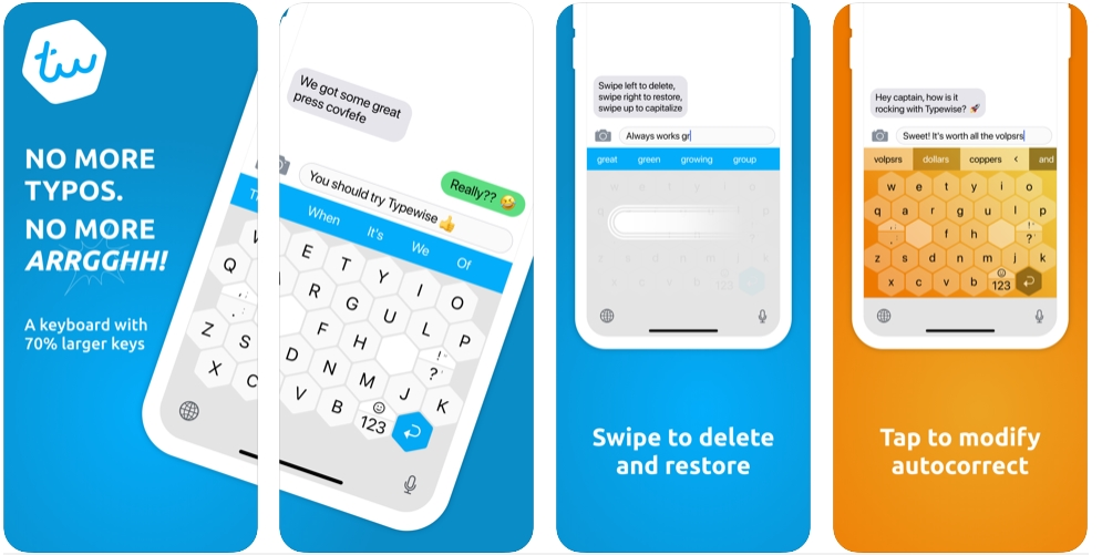 2019 12 18 14 19 29 Window - تطبيق Typewise لوحة مفاتيح تتمتع بتصميم ذكي يقلل الأخطاء المطبعية