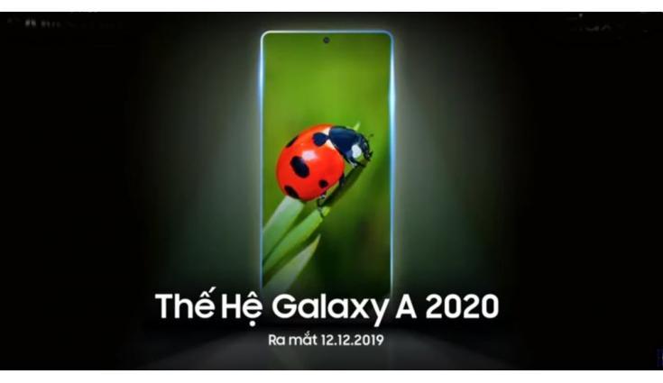Samsung Teases Galaxy A Series 2020 Launch on December 12 - سامسونج تعلن موعد الكشف عن جوالات جالكسي A 2020 المتوسطة
