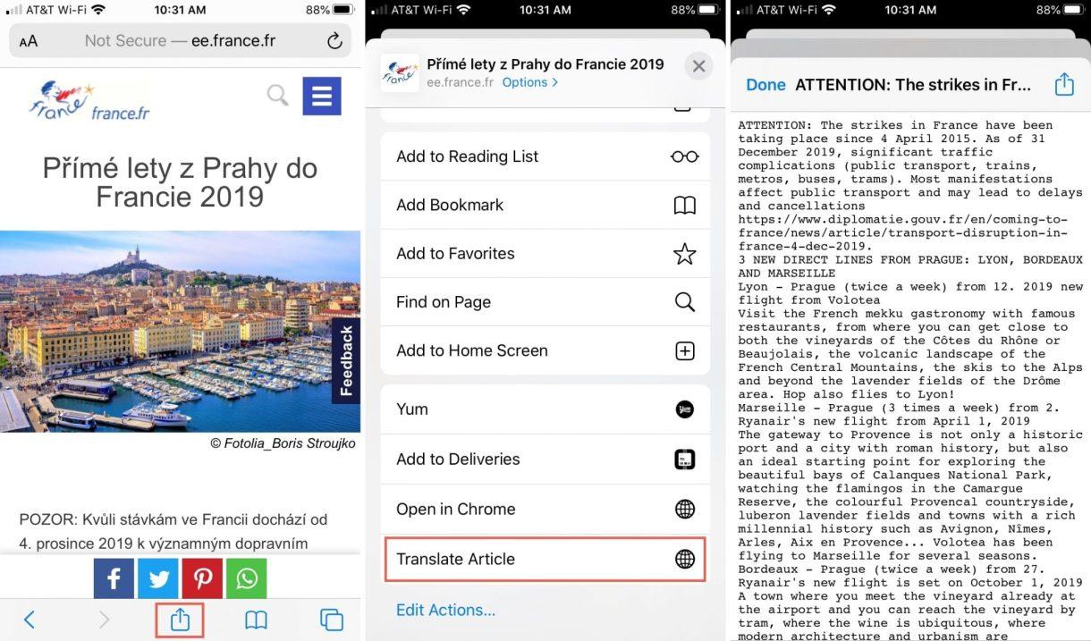 2 تطبيق Shortcut لترجمة المقالات في Safari - تعرّف على طريقة إنشاء اختصار الترجمة لمتصفح سفاري على أجهزة الآيفون وآيباد