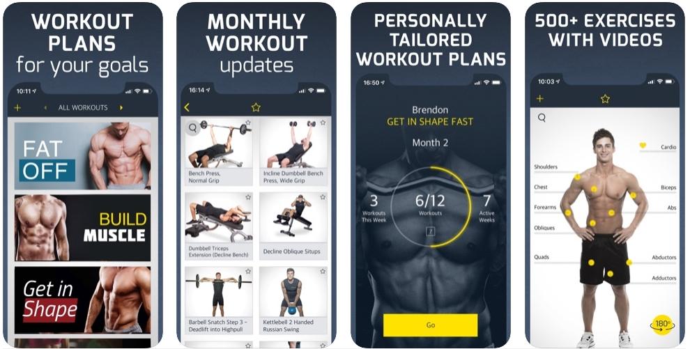 2020 01 27 18 46 15 Window - Gym Workout Planner أفضل تطبيق تمارين للشاب المبتدأ في الجيم