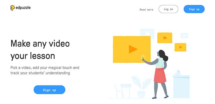 EdPuzzle - Edpuzzle: لرفع الفيديوهات التعليمية ووضع الأسئلة أون لاين
