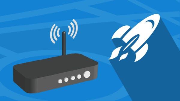 boost internet speed - 5 نصائح لزيادة سرعة الواي فاي في المنزل