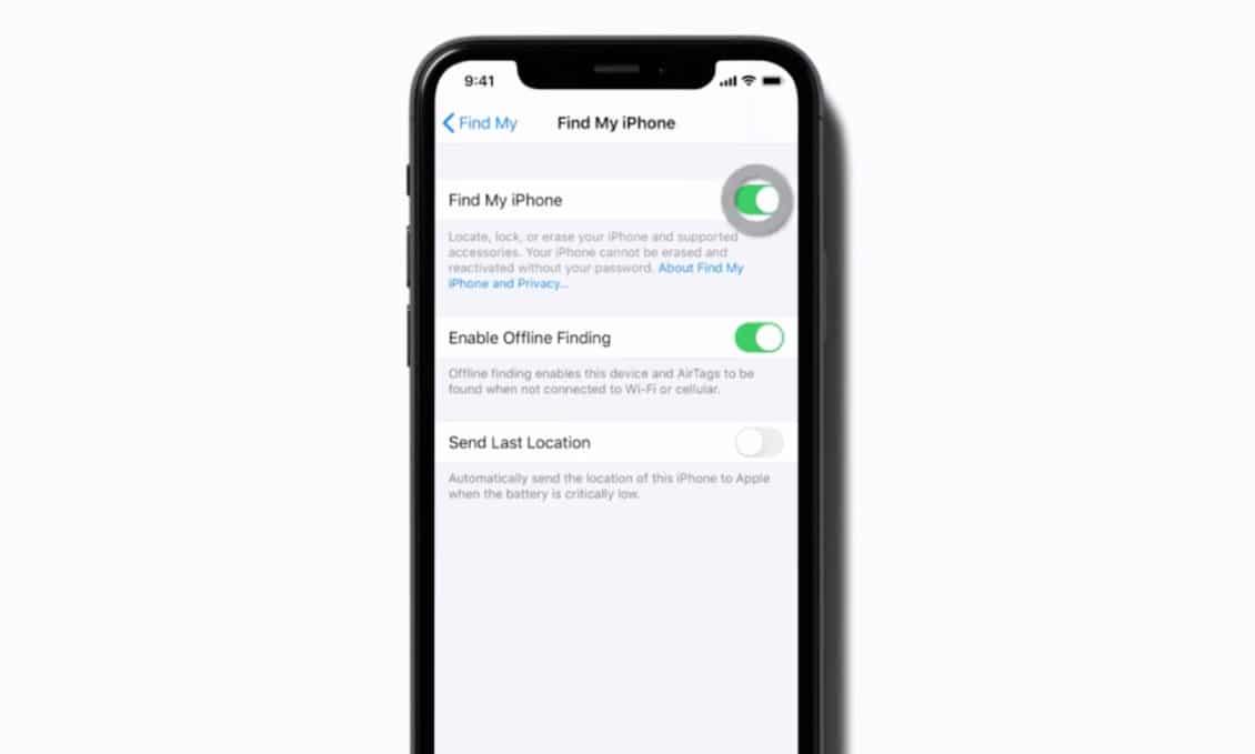 """airtags settings iphone 1 1130x679 1 - فيديو.. آبل تؤكد وجود منتج """"أير تاجز"""" بدون قصد"""
