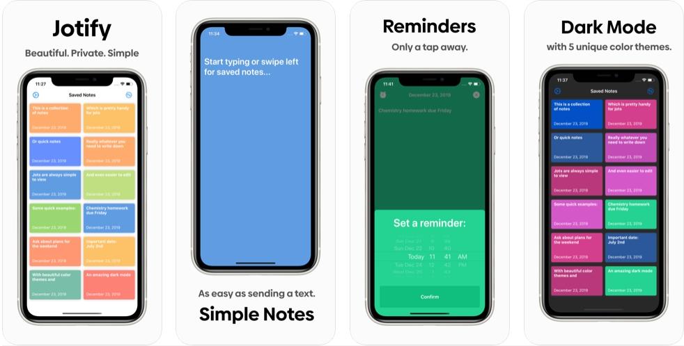2020 05 10 23 11 54 Window - تطبيق Jotify - أبسط وأسرع تطبيق لتدوين الملاحظات وإرفاقها بمنبه