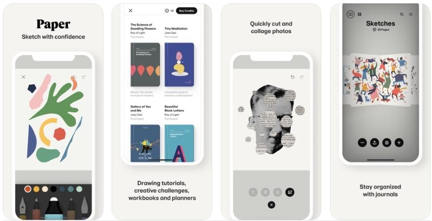2020 05 21 00 43 54 Window - تطبيق Paper - دفتر ملاحظات لتضع فيه الأفكار والصور والرسوم