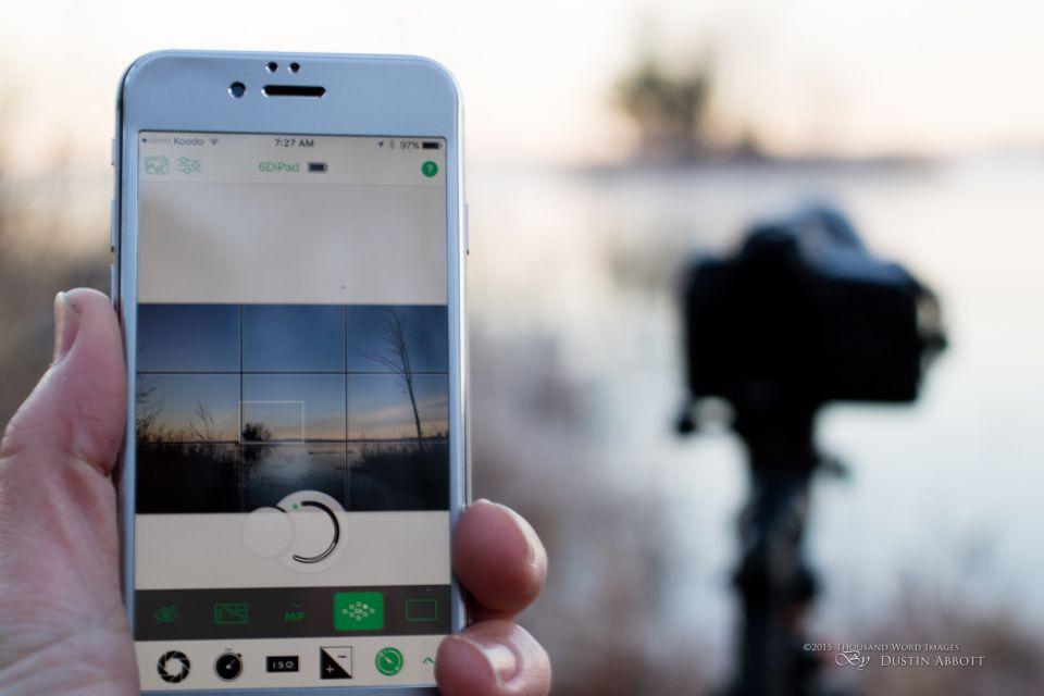6D 1 - تطبيق Cascable يحول الجوال إلى لوحة تحكم بالكاميرات الاحترافية