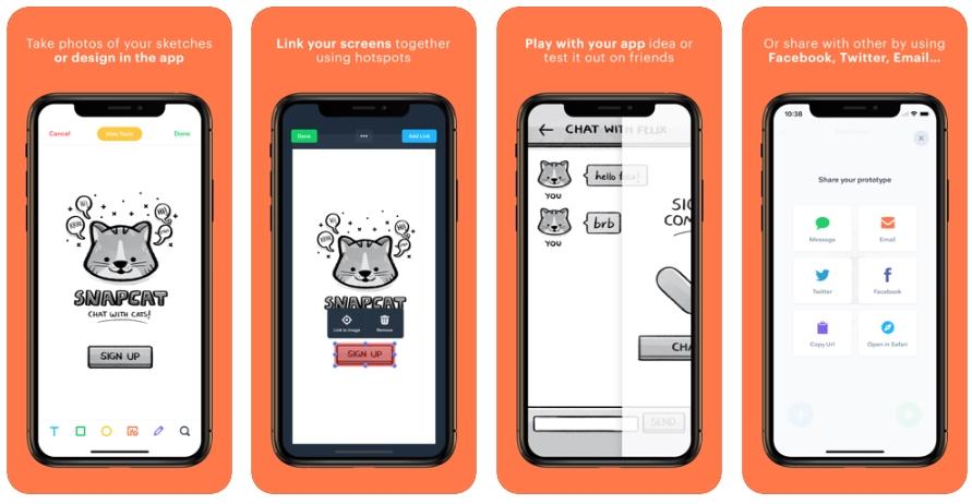 2020 06 04 22 02 37 POP Prototyping on Paper on the App Store - تطبيق POP لعمل تصاميم للتطبيقات وواجهات المستخدم
