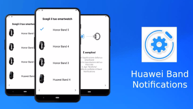 Huawei Band Notifications