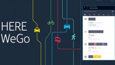 صورة خرائط here للسيارة | أسباب تفوق تطبيق خرائط here للسيارة على جوجل مابس