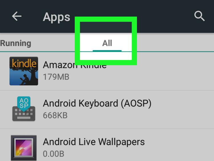 2 8 - اظهار التطبيقات المخفية في الاندرويد | طريقة العثور على التطبيقات المخفية في Android