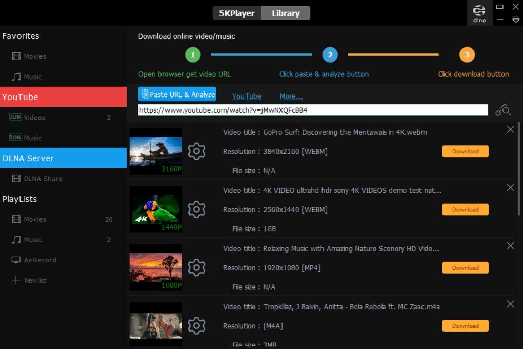 3 - برنامج تحميل من اليوتيوب للابتوب | افضل واسرع برنامج تحميل من اليوتيوب للكمبيوتر 2020