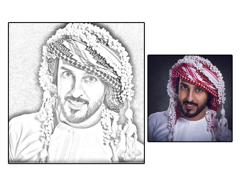 تحويل الصورة الى رسم 2 - تحويل الصورة الى رسم   أفضل برامج لـ تحويل الصورة الى رسم كرتون