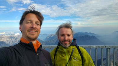 Micha und Olli on Top of Germany