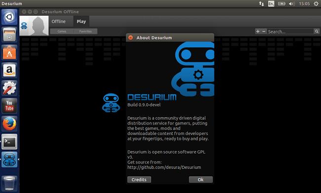 Install Desurium in Ubuntu