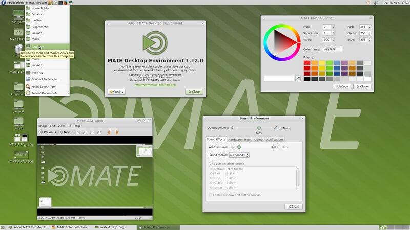 mate desktop environment 2