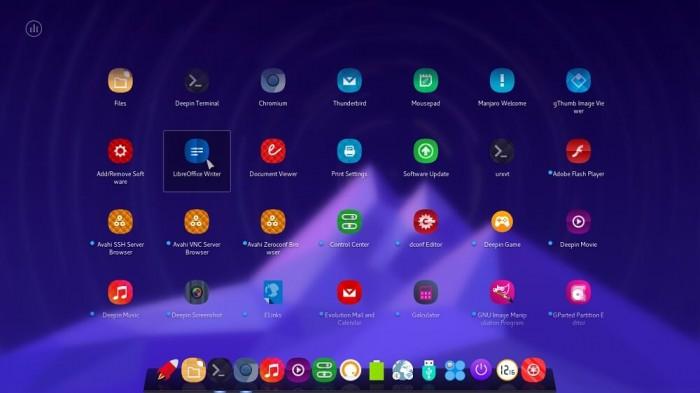Manjaro Linux Deepin 3