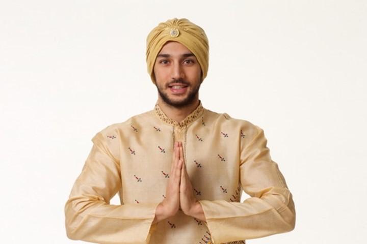 インド人風の男性