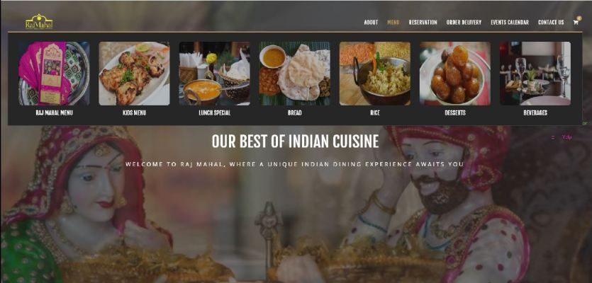 RajMahal Indian cuisine