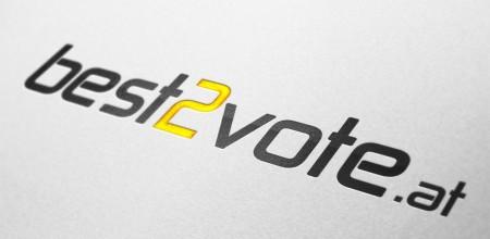 best2vote.com Logodesign