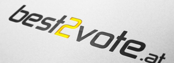 best2vote.com Logodesign