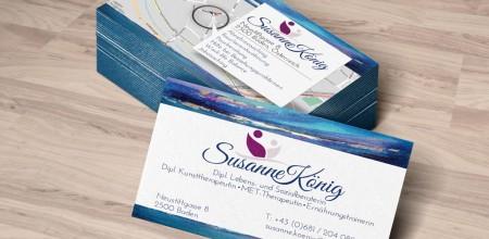 Susanne König – Visitenkarten