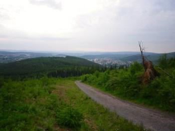 Blick nach Ilmenau