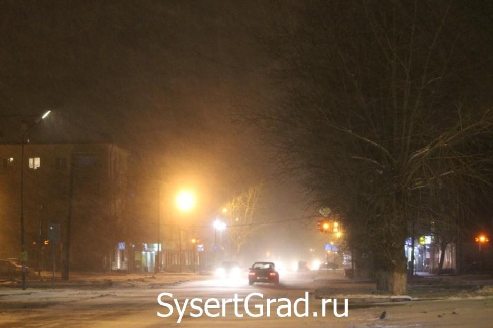 В Сысерти в ночь с 17 на 18 октября наступила зима