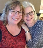 To fantastiske kvinner som gjerne deler ut av sin kreativitet