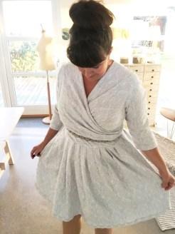 Det er noe spesielt når man har en kjole med vidde på seg...