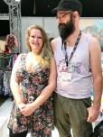 Runi og Robert er et flott og funky par som inspirerer med Runi´s design
