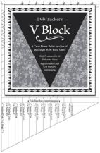Den magiske linjal V-Block Trimmer fra Deb Tucker