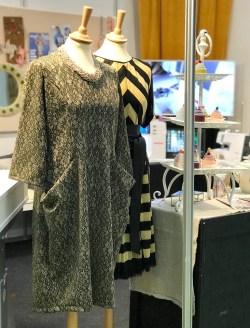 Lommekjolen og Las Vegas-kjolen ble begge beundret - litt bling er jo aldri feil...