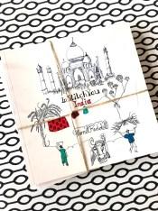 """Det søsteste og hyggeligste reisebeskrivelse som finnes mellom to permer - Harriets bok """" In Stitch You - India"""""""