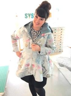 Det er deilig å ha glidelås i jakken - det føles også som at det slanker silhuetten litt også
