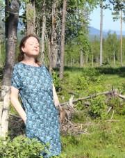 Annette er en stoff designer fra Sverige som jeg har hatt kontakt med i flere år